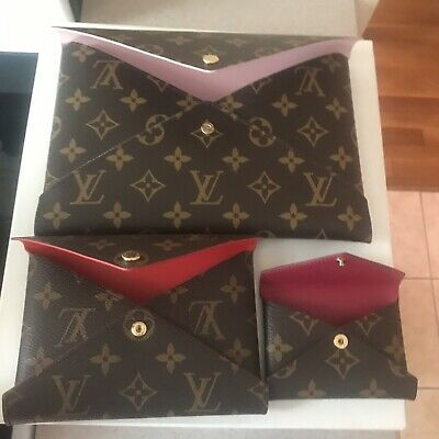 100% Authentic Louis Vuitton kirigami Pochette LARGE And SMALL