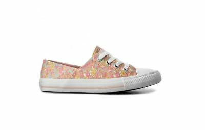 CONVERSE WOMEN CHUCK Taylor All Star Coral Micro Dot ... Ox Sneakers ... Dot 664a06