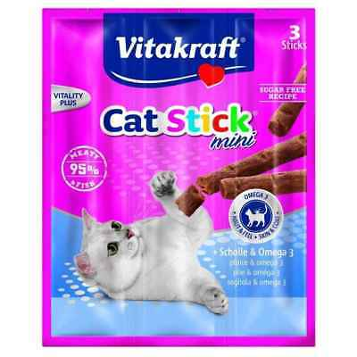 Friandises Cat Stick Mini au Carrelet pour Chats - Vitakraft - x3