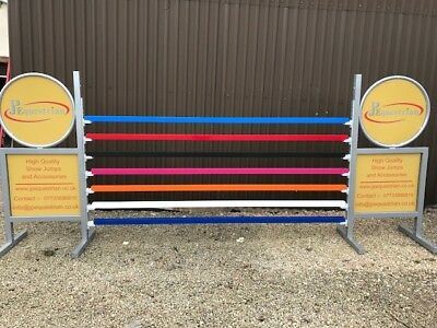 Aluminium Show Jumping Square Poles - use with Showjumping cups 3m