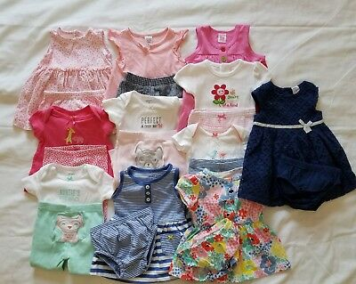 Baby Girls 0/3 3 months Spring Summer clothing outfits clothes lot