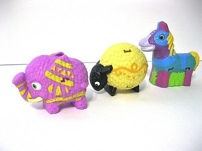 Viva Pinata Easter Candy Container Animal Donkey Party Cup Cake Topper Meal Toy