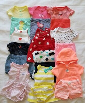 Baby Girls Newborn Spring Summer clothing outfits clothes lot