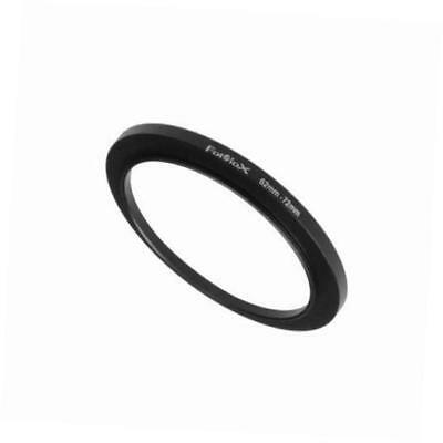 metal step up ring filter adapter, anodized black aluminum 62mm-72mm, 62-72 mm