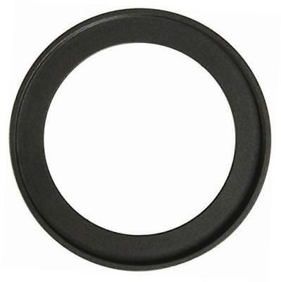 metal step up ring filter adapter, anodized black aluminum 40.5mm-49mm 40.5-49