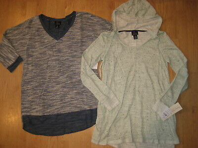 NEW Motherhood Oh Baby maternity womens hood small top shirts knit sweater lot