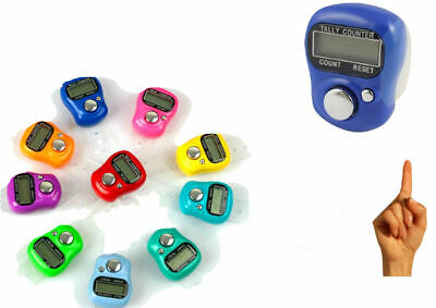 Digital  Finger Ring Tally Counter Hand Held Knitting Row counter Clicker
