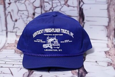 be2b600e6 VINTAGE FREIGHTLINER BIG Rig Trucker Hat Snapback Mesh Hat Lexington,  Kentucky.