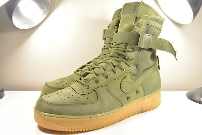 separation shoes 22e5a 5e8ce NIKE 2016 SF Af1 Air Force 1 Special Field Urban Utility Fade Olive Green 13