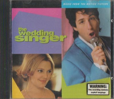 C.d.music E836  Music From The Motion Picture / The Wedding Singer  Cd