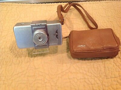 Minolta-16 Vintage Subminature Spy Camer With Case