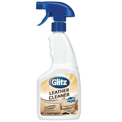 Glitz 500ml Leather Cleaner Super Fast Shipping from Sydney