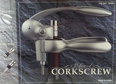 Factory Sealed Costco Professional Corkscrew Wine Bottle 6 Piece Set Flawless