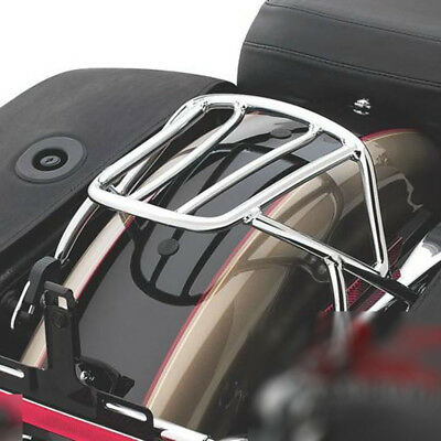 Solo Seat Luggage Rear Fender Rack For Harley Sportster XL 883 1200 2004 -2017
