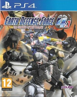 Earth Defense Force 4.1: The Shadow of New Despair PLAYSTATION 4 PS4 NEW SEALED