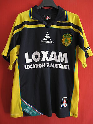 Football Jersey Fc Nantes Year 2001 Outdoor Loxam Vintage - S