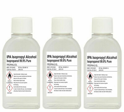 Lucemill Screw Top 70%, 91%, 99.9% Isopropyl Rubbing Alcohol Ipa Isopropanol