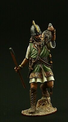 ELITE TIN SOLDIER: Celtic Warrior, La Tene period 54 mm,metal sculpture.
