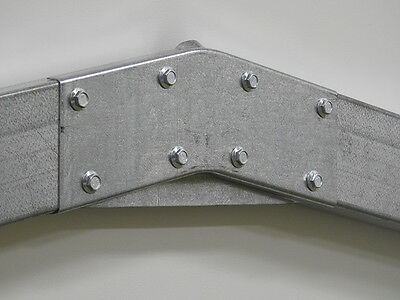 """Garage/Shed Brackets,Apex,connection,6"""" C Section,Purlin,Industrial"""