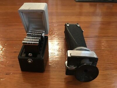 Bolex viewfinder and view filters for 16mm, 8mm cameras pallaird swiss film cine