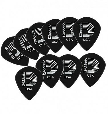 D'Addario Planet Waves Duralin Black Ice Picks x10 Gauge: .55, .80, 1.10, 1.50mm
