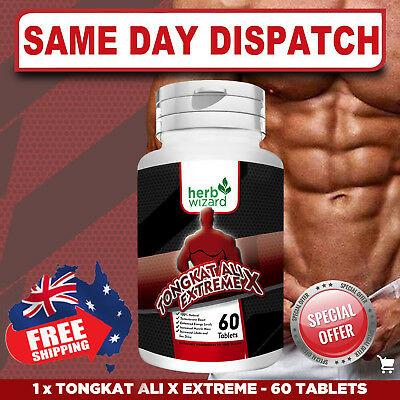Tongkat Ali EXTREME X 200:1 Root Extract PURE POTENCY & STRENGTH - FAST SHIP!
