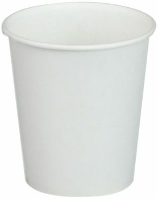 White Paper Water Cups, 3 Oz., 100/Pack