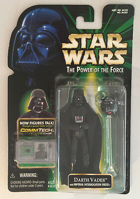 STAR WARS The Power of the Force: DARTH VADER - Action Figur - Hasbro Neu & OVP