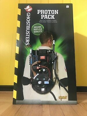 UNOPENED Spirit Ghostbusters Deluxe Replica Proton Pack Prop - Halloween Costume