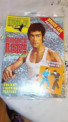 Kung fu monthly poster magazine no 56 excellent condition bruce kung fu monthly poster magazine no 8 excellent condition bruce lee kfm altavistaventures Choice Image