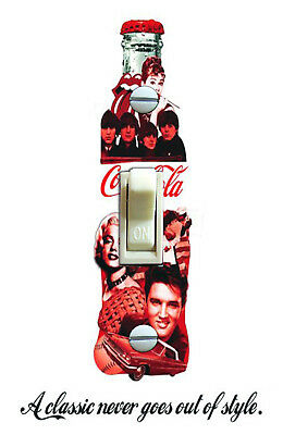 Coca Cola Classic Legends Poster Decorative Single Switch Plate *FREE SHIPPING*