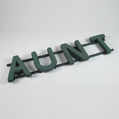 AUNT Floral Oasis Foam Funeral Tribute Frame Comes with Stand