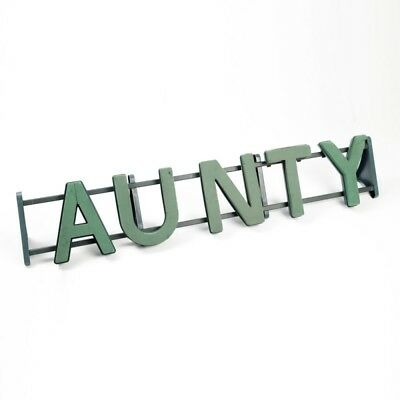 AUNTY Floral Oasis Foam Funeral Tribute Frame Comes with Stand