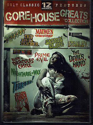 Gorehouse Greats Collection (3 double-sided DVDs, 12 films)