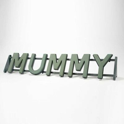 MUMMY Floral Oasis Foam Funeral Tribute Frame Comes with Stand