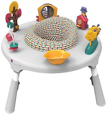 Baby Kids PortaPlay 4 in 1 Foldable Travel Activity Play Table Center