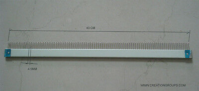 43cm Cast-on Comb for 4.5mm 9mm  Brother KH260,KH860 to KH970 Singer SK280 SK840