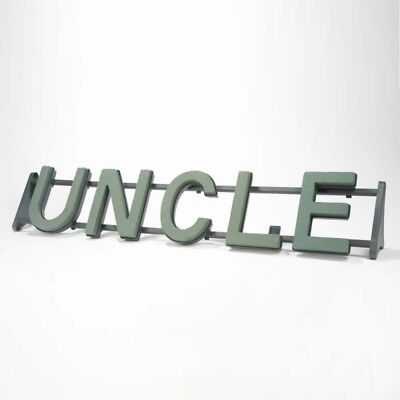 UNCLE Floral Oasis Foam Funeral Tribute Frame Comes with Stand
