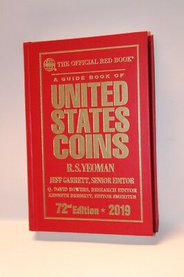 2019 Red Book Price Guide, 72nd Edition, Hardbound, In Stock & Shipping NOW!