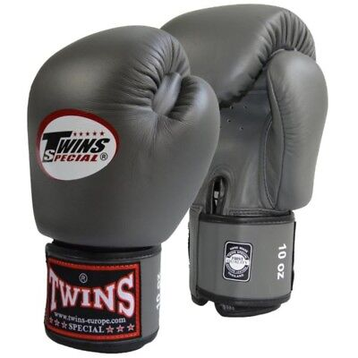 Twins Special Bgvl-3 Grey 8oz Muay Thai/ Boxing Gloves