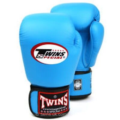 Twins Special Bgvl-3 Light Blue 14oz Muay Thai/ Boxing Gloves