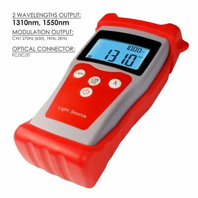 Fiber Optical Light Source for Power Meter Handheld with 1310/1550nm Wavelength