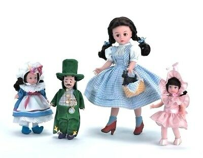 Dorothy And Munchkinland Set- 2003 #36775 By Madame Alexander Nrfb Ultra Rare!