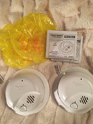 FIRST Alert 9120B Smoke Detector Alarm AC Powered With Battery