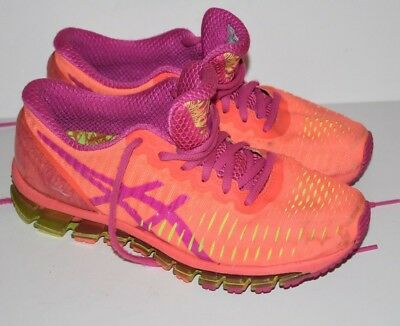 wholesale dealer b0697 38c94 ASICS GEL QUANTUM 360 Women's Running Shoes Sz US 7 EU 38 Orange T5J6N