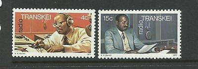 Transkei 1977 The 1st Anniversary of Transkei Radio Complete MUH/MNH as Issued
