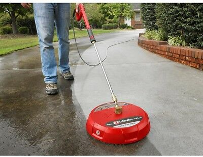 EZ Clean Gas Surface Cleaner Pressure Washer Attachment Deck Patio Driveway Pool