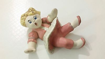 Vtg Jill Jack and Jill ceramic figurine REWARD MOLD 1964 Vintage Doll