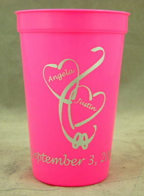 3000 22 oz. Custom Stadium Cups Custom Personalized Beer wedding party favors