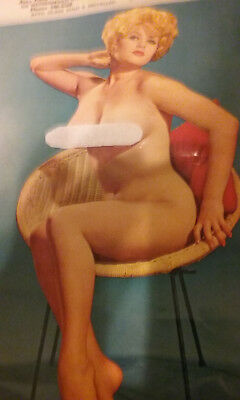 1963 Origional Garage/Gas Station Pin-Up Girl Calander (Nude)   Bids are PRIVATE